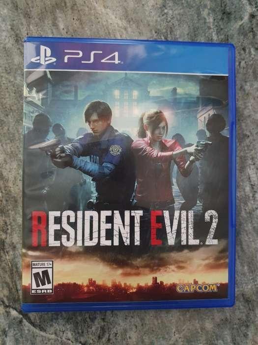 Resident Evil 2 Remake, Playstation 4