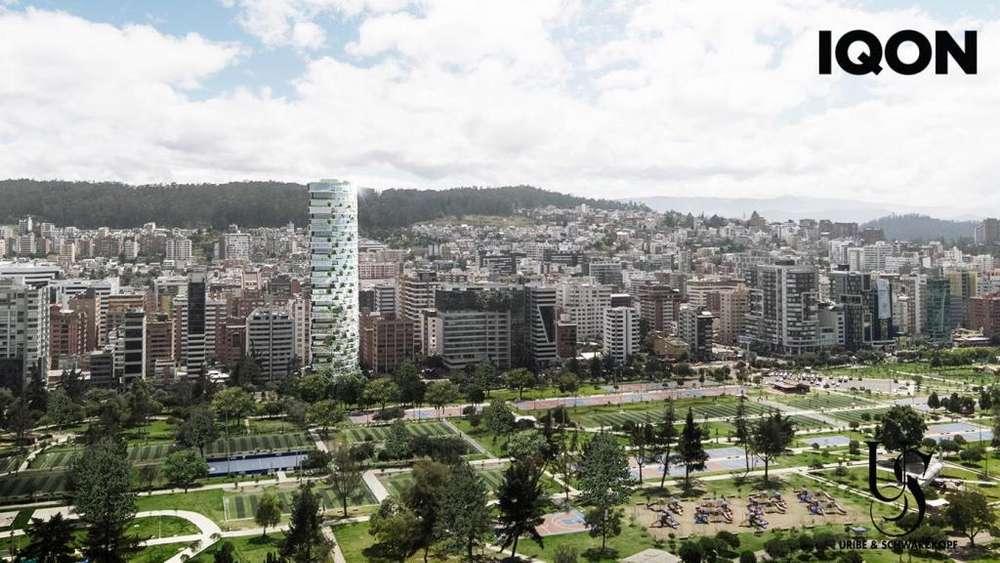 Venta Oficina en <strong>edificio</strong> IQON ubicado en Quito/ El Batan / La Carolina/ Shyris