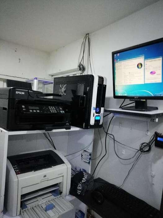 computadores cafe internet IMPRESORAS