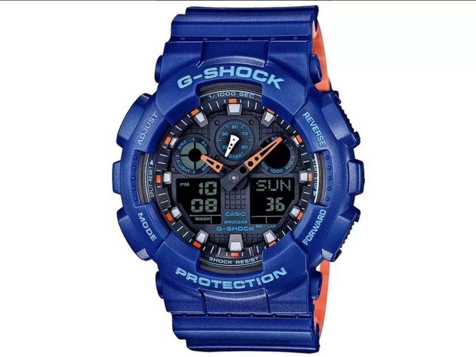 Reloj Casio G Shock Ga100l 2ab