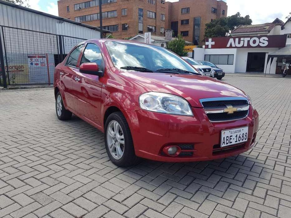 Chevrolet Aveo 2014 - 81500 km
