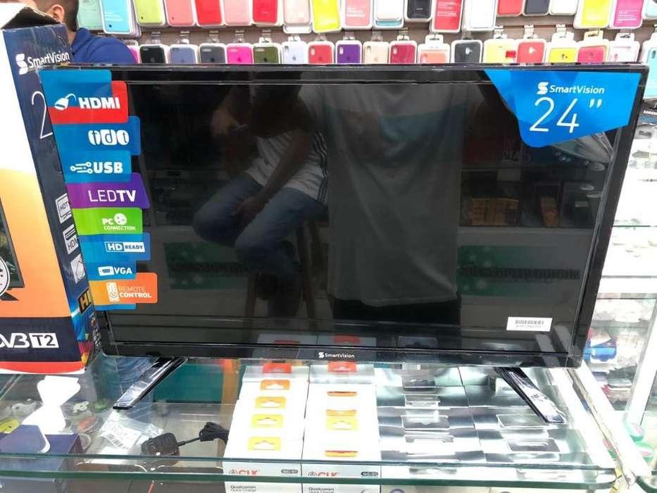Televisor 24 Pulgadas Smartvision