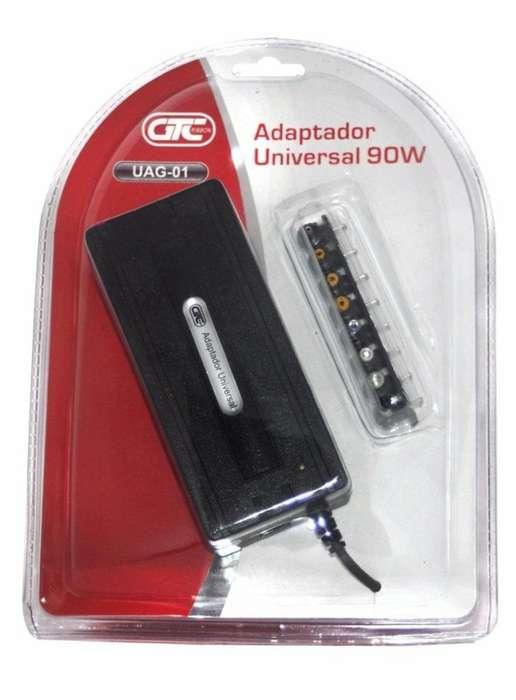 Cargador Universal Notebook 90w Usb 5v Voltaje Manual Gtc