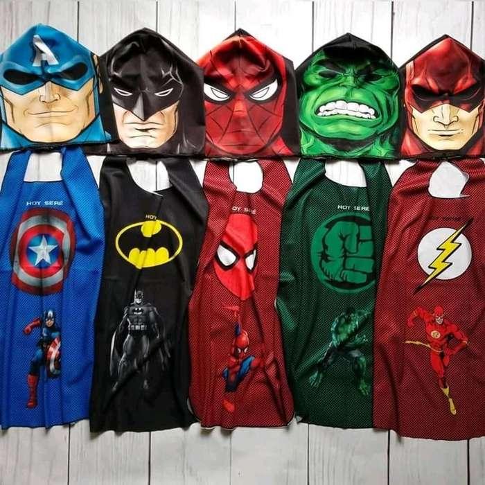 Máscaras Superheroes 200pesos Km3