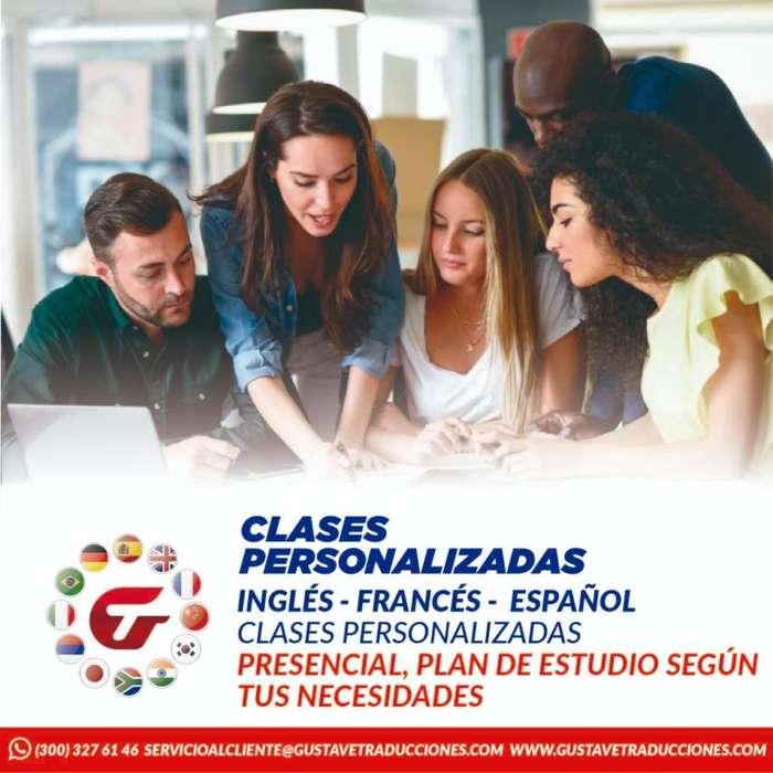 Clases de inglés y/o francés a domicilio o en línea