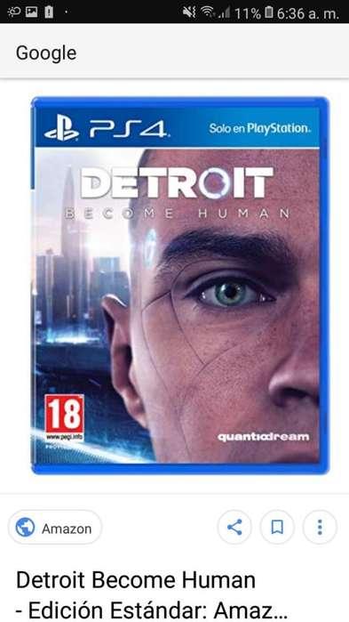Vendo juego de play 4 Detroit