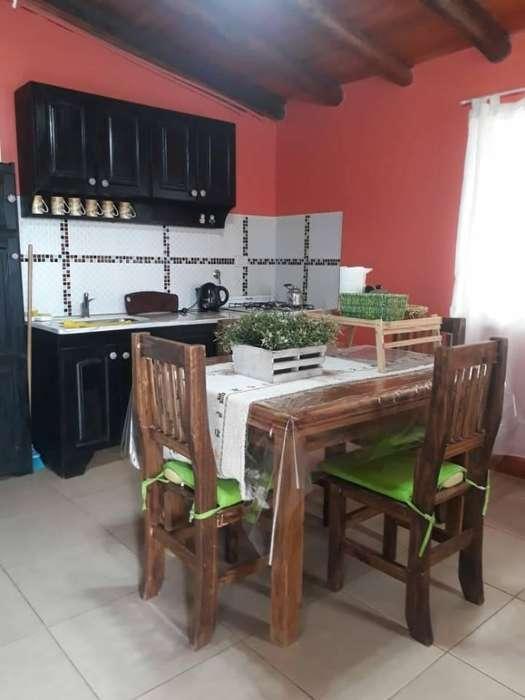 oj30 - Cabaña para 2 a 6 personas con pileta y cochera en Villa Larca