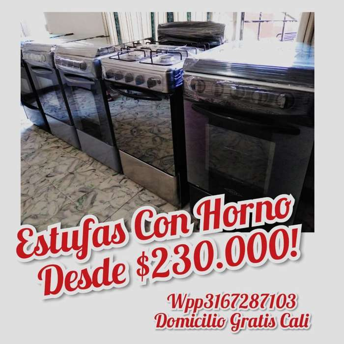 Estufas Con Horno Excelente Estado Desde 230 Domicilio Gratis Cali wpp3167287103