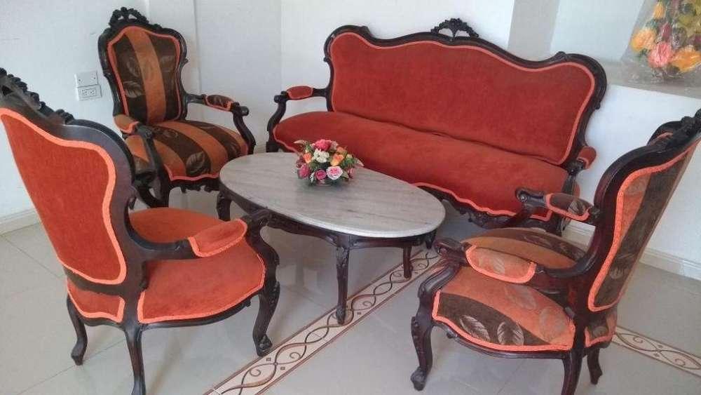 Muebles sala Luis XV, Nuevos, poco uso. Negociables