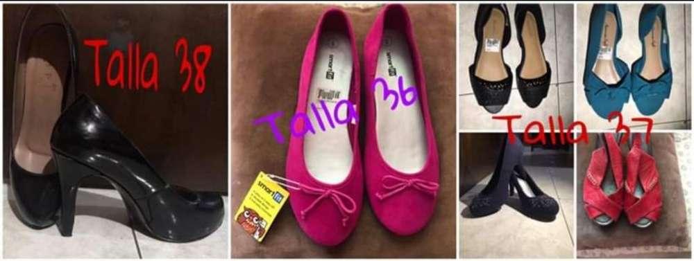Zapatos para Dama con Poco Uso