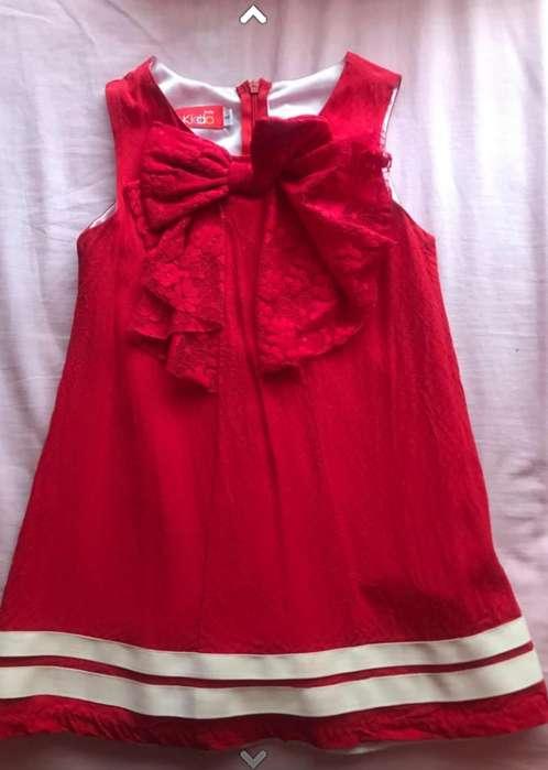 Vestido Niña Usado 4 años ESTADO EXCELENTE