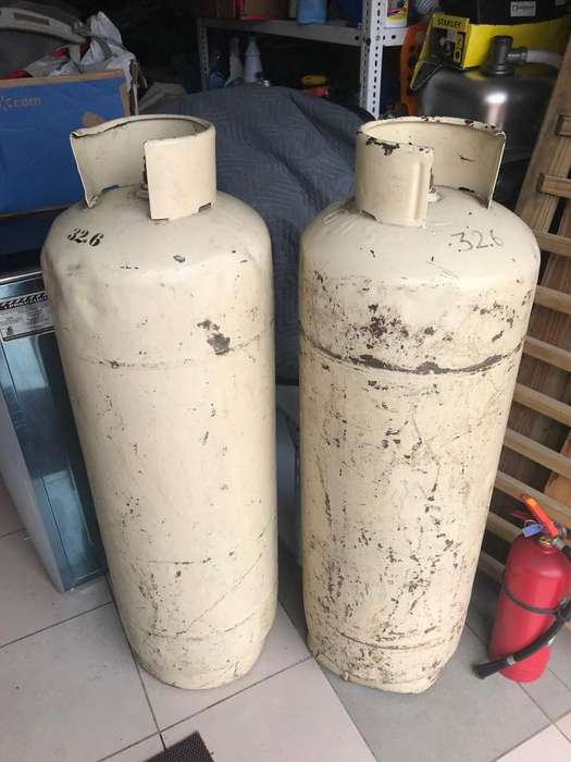 De oportunidad vendo cilindro de gas industrial
