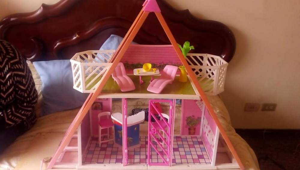 Pool House Barbie Coleccionable 90s