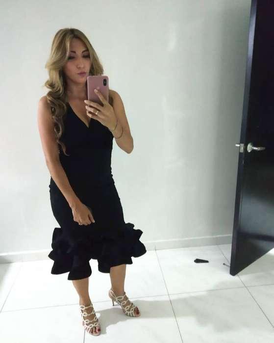 Se Vende Vestido de Fiesta Negro