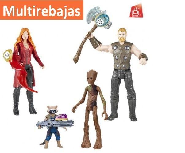 Nuevos Personajes de Coleccion de la Pelicula Avengers Disponible