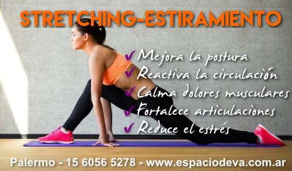 Clases de Stretching, Elongación en Palermo. Espacio Deva.