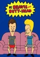 Figuritas de MTV Beavis y Butt head