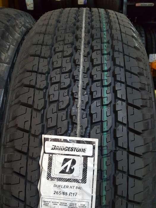 Llantas Toyota Bridgestone 265/65r17