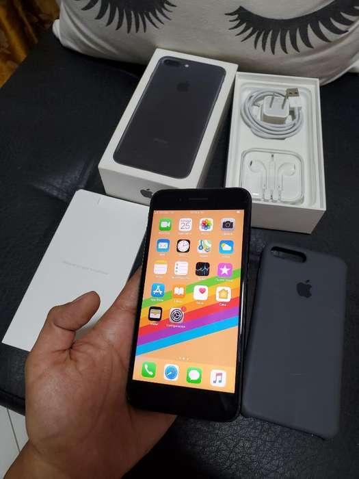 iPhone 7 Plus Negro 128 Gb en Caja