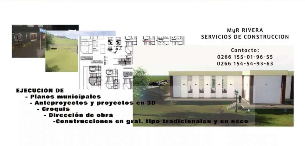 Planos Municipales, Proyectos En 3d, Dirección De Obras