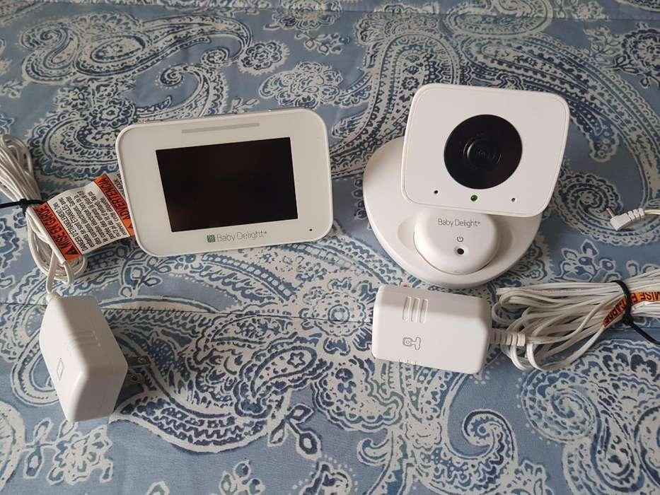 Camara Y Monitor con Visión Nocturna