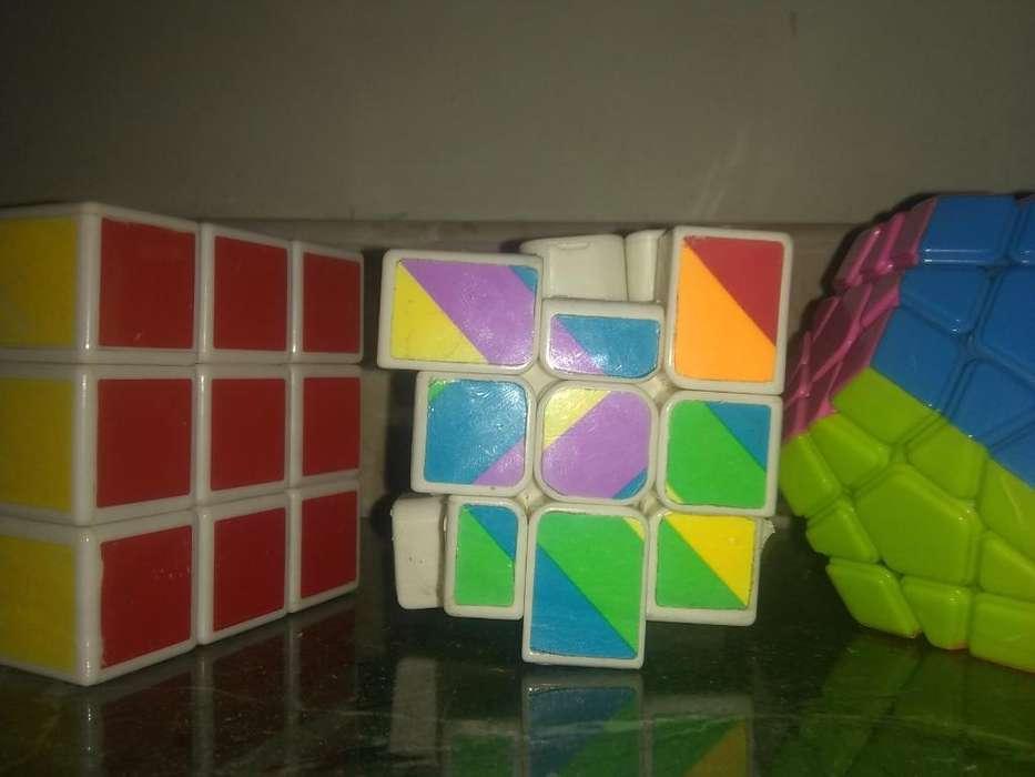 Vendo Los 3 Cubos Juntos