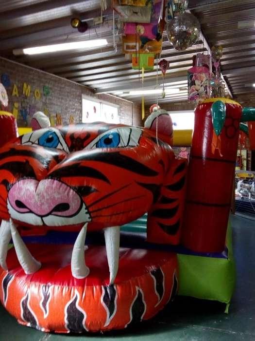Inflable Jungla Tigre 5x3