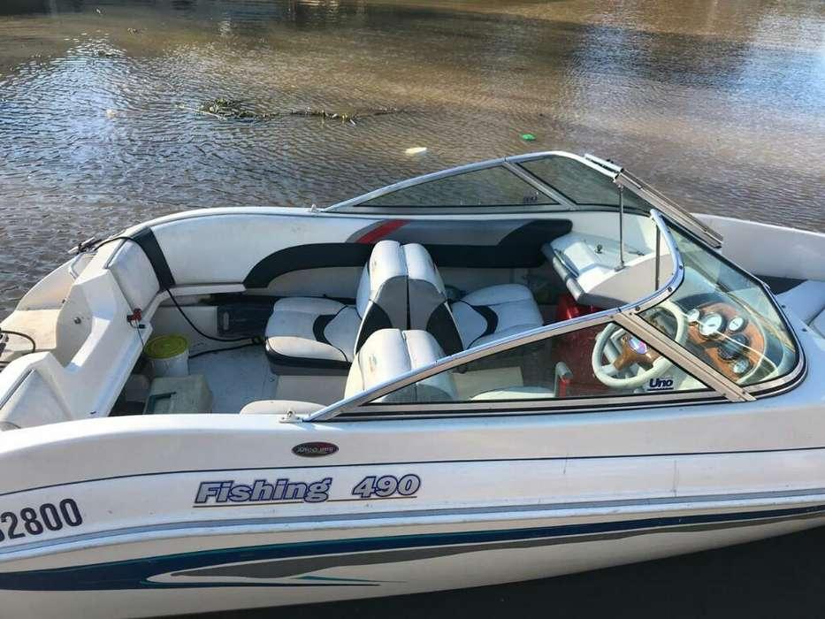 Arcoiris Fishing 490 con Yamaha 60 2t