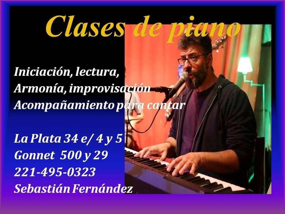 Clases de PIANO/TECLADO en La Plata y en Gonnet