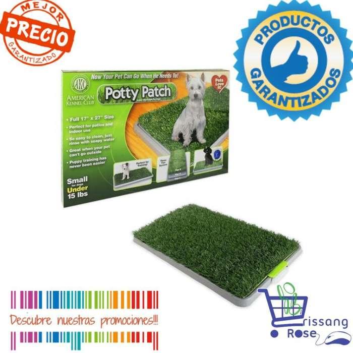 Tapete de Entrenamiento Baño Grande Para Perro Entrenador de Mascotas Potty Patch