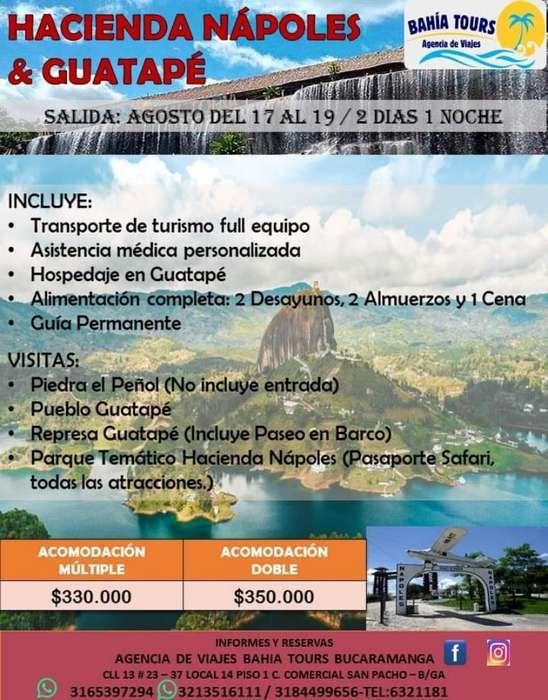 Tour Guatape Nápoles