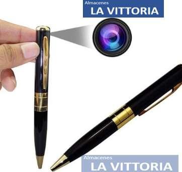 Esfero Espia Microsd Video Con Audio Y Fotos