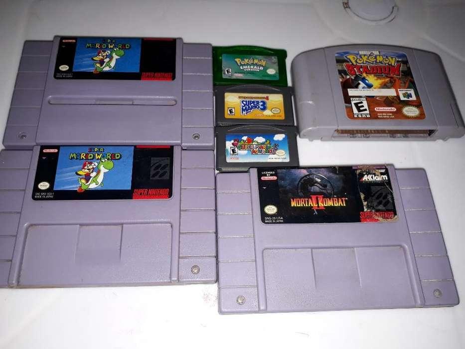 Juegos de Super Nintendo 64 Y Gameboy