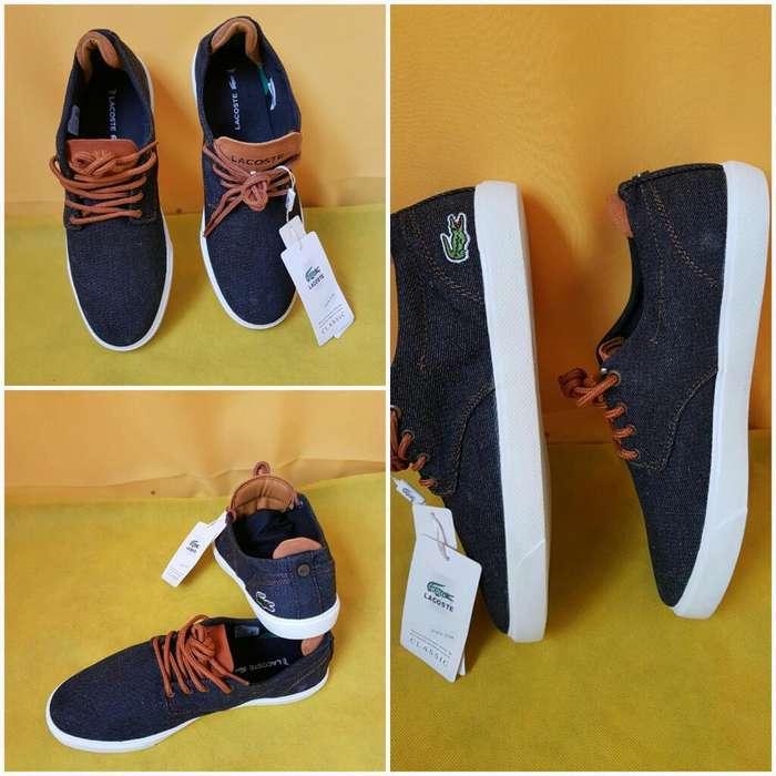 Zapatos Lacoste Italy Original
