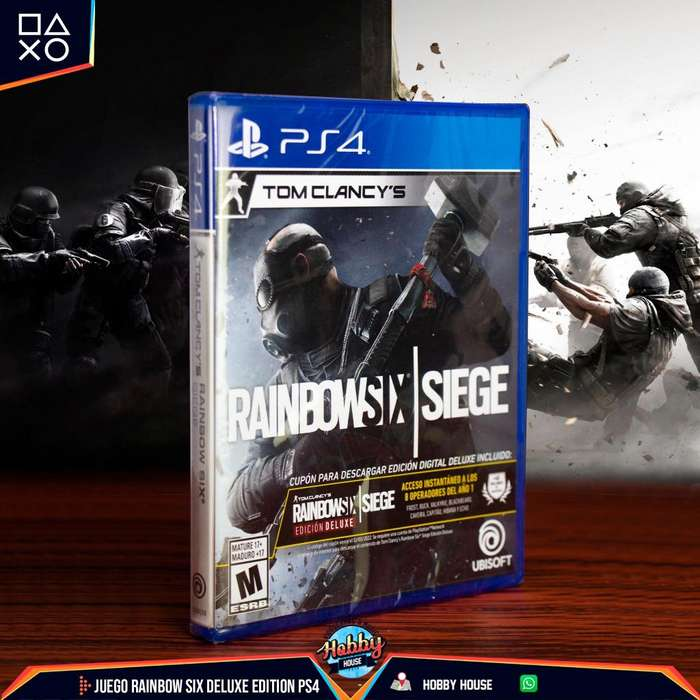 Juego Rainbow Six Siege Deluxe Edition PS4