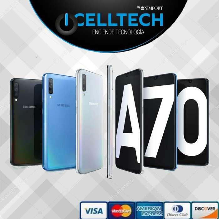 SAMSUNG GALAXY A70 128GB ESTUCHE GRATIS