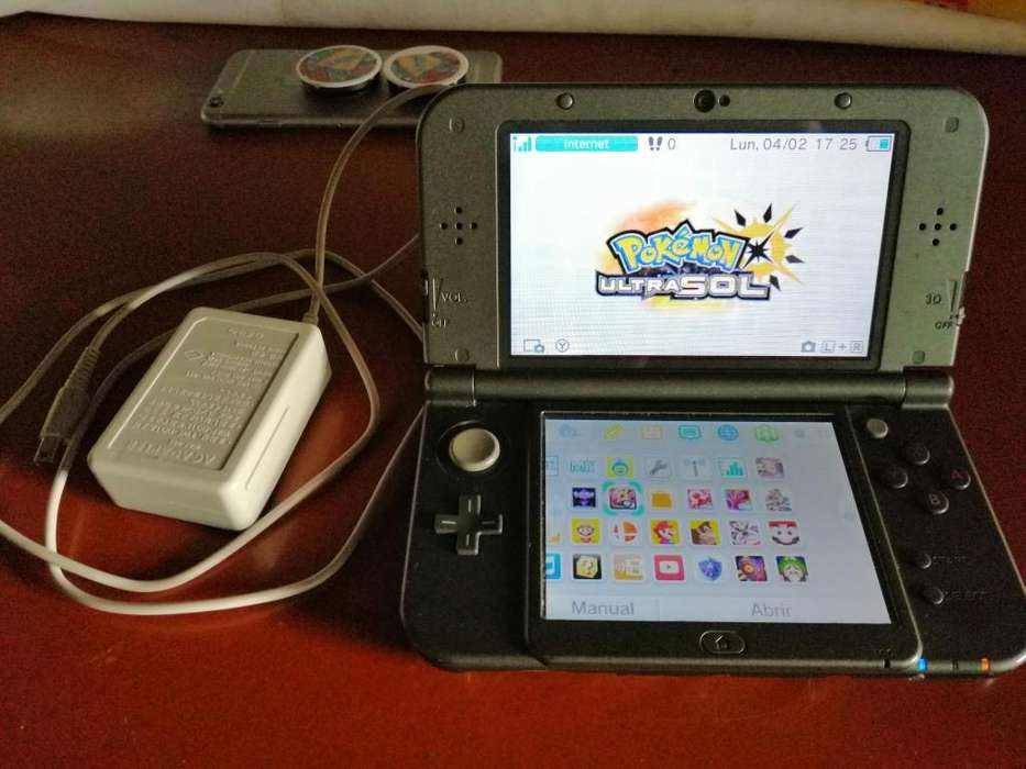 Se Vende Nintendo New 3ds XL Negra.