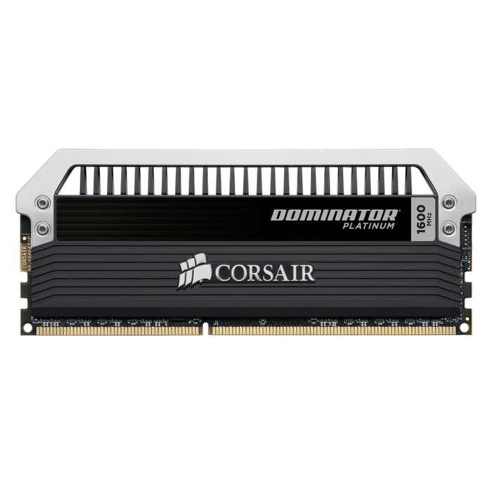 Memorias RAM DDR3 1600mhz 16GB (8GBx2) CORSAIR Dominator Platinum