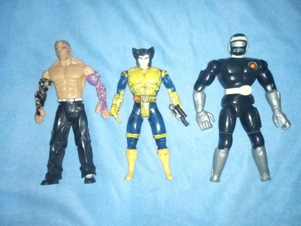 Muñecos Vintage X Men Power Rangers Wwe