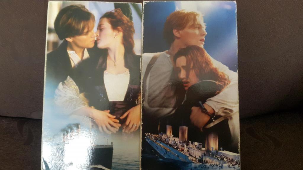 Titanic Película de Titanic en VHS Originales