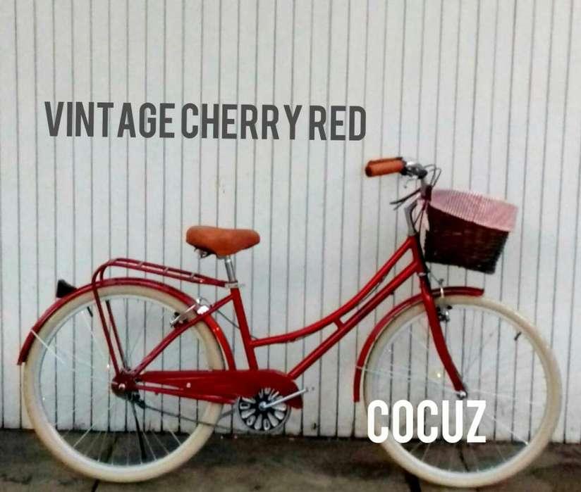 Bicicleta Vintage Original de Mujer Dama