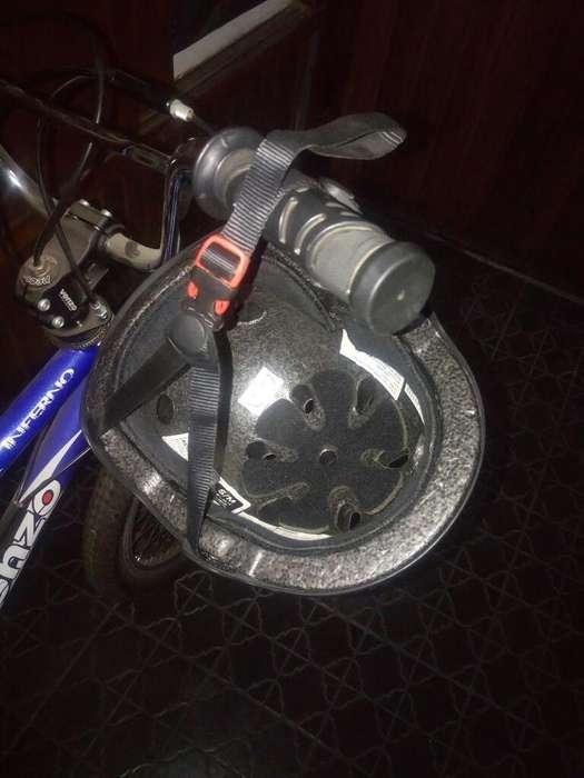 Bicicleta Venzo Tipo Bmx Y Casco