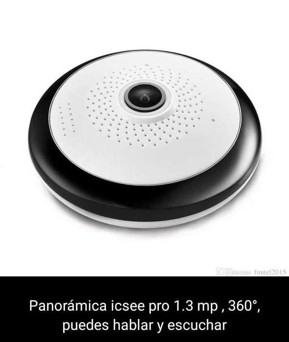 CÁMARA DE SEGURIDAD IP 360 GRADOS PANORÁMICA WIFI