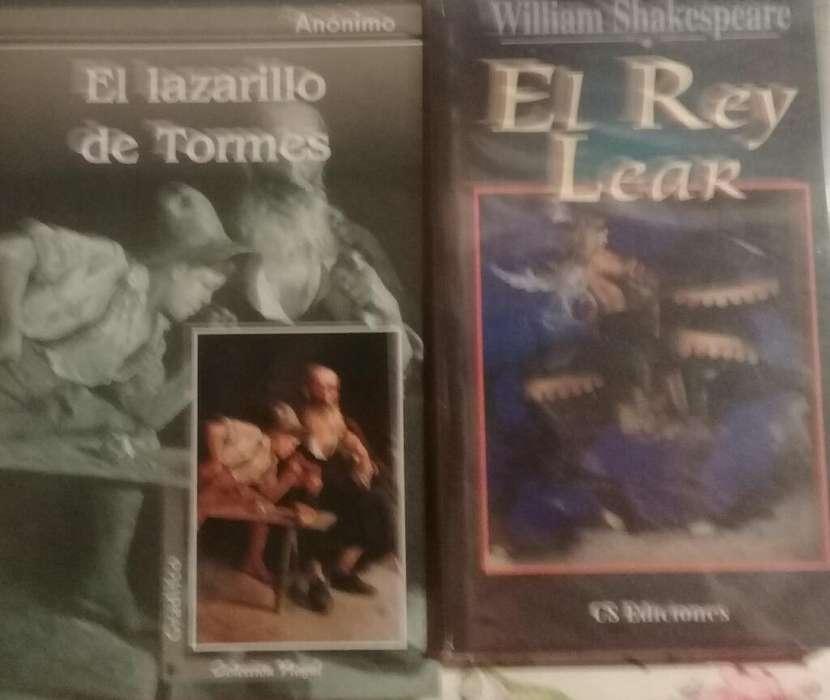 El Rey Lear Y El Lazarillo de Tormes X 2