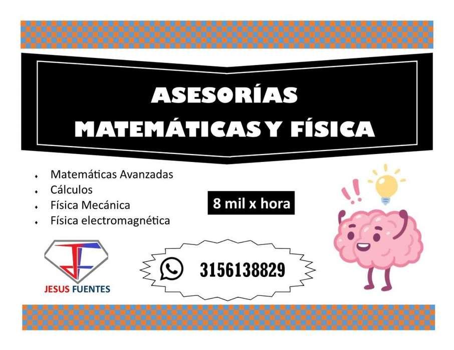ASESORIA MATEMATICAS Y FISICA CUCUTA