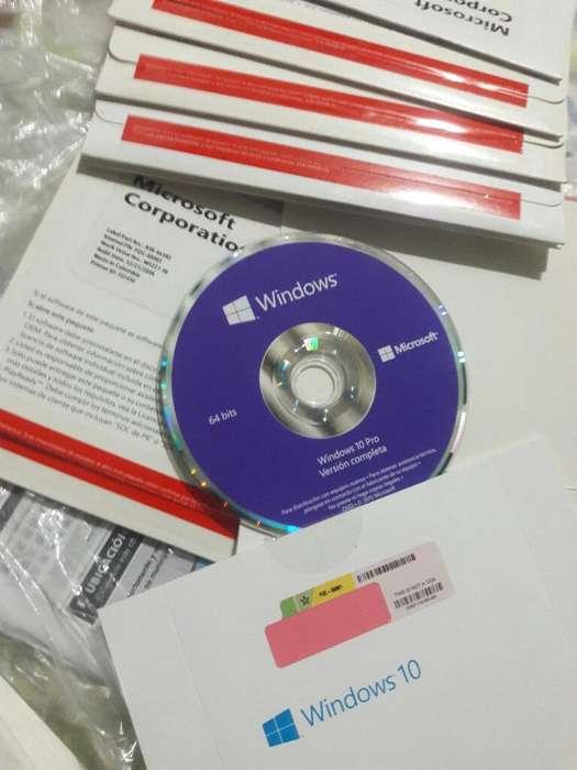 Se Vende Cd Originales de Windows 10