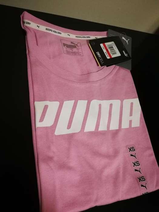 Camiseta Original Puma Mujer