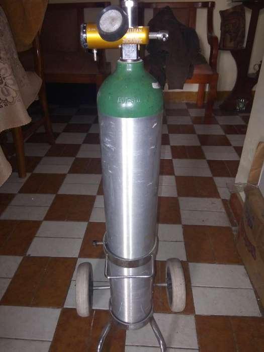 Tanque de Oxigeno Portatil