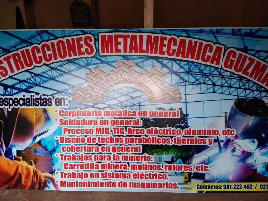 Servicio Carpinteria Metalica en General