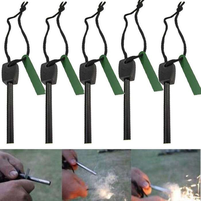 Pedernal Para Encender Fuego Camping Otros